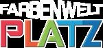 Platz-Farbenwelt Original Logo Weiß